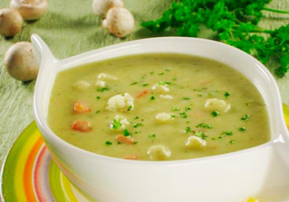 Рецепт супов-пюре для детей