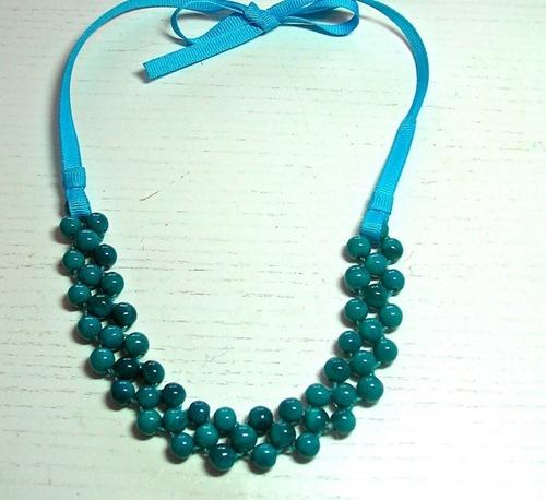 Ожерелье своими руками бусы
