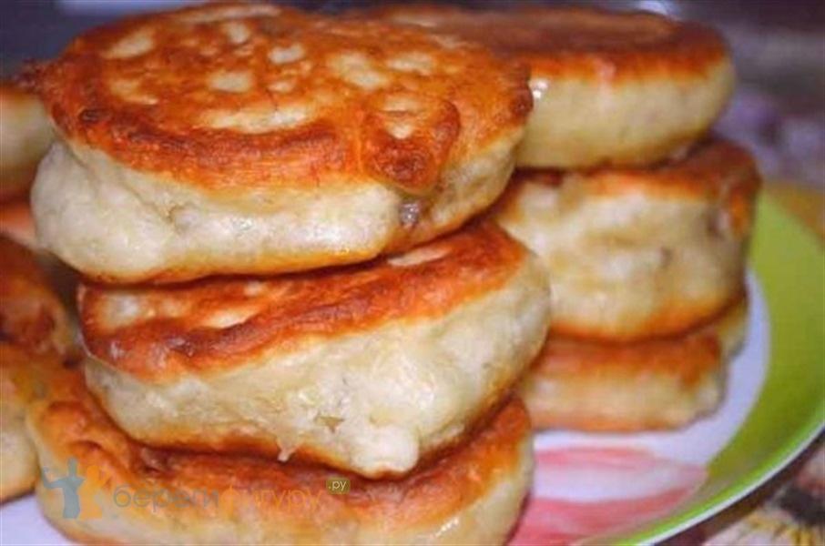 Вкусные оладьи на кефире пошаговый рецепт с фото