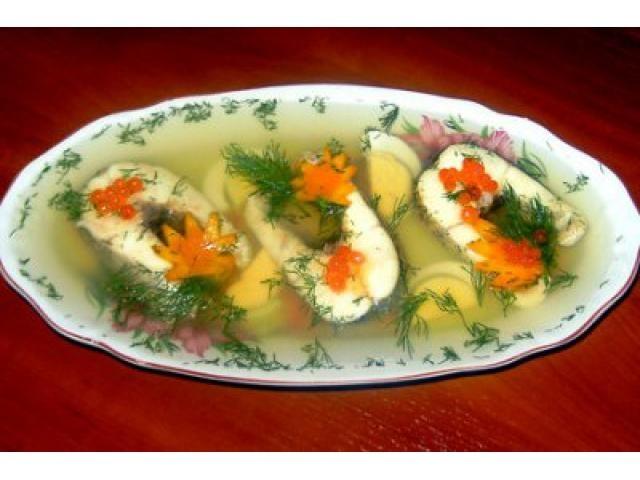 Заливное из красной рыбы рецепт с пошагово