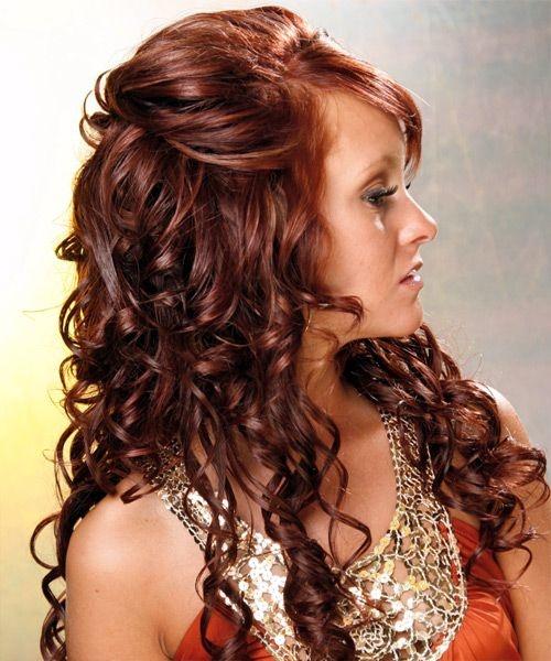 котельные прически на длинные волосы