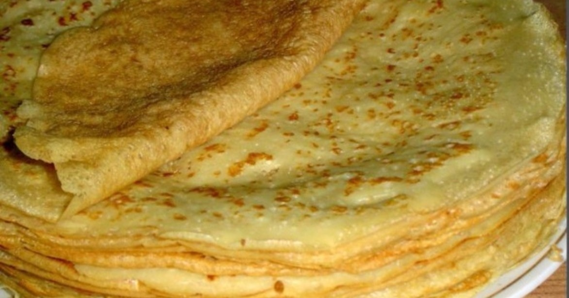 Тонкие ажурные блинчики на кефире рецепт с фото пошагово