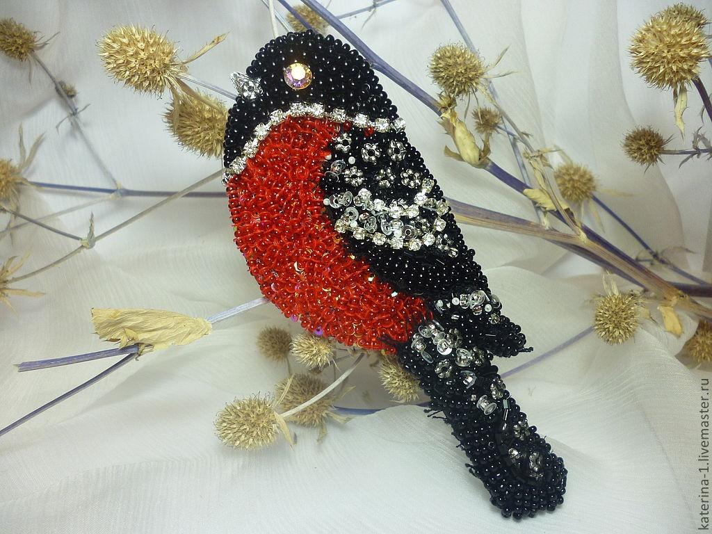 Поделка из бисера птиц