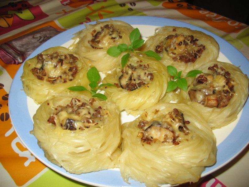 Макароны с фаршем рецепты пошагово