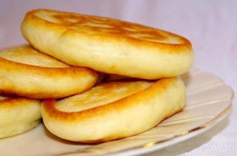 Оладушки на кефире без яиц пышные рецепт с фото пошагово