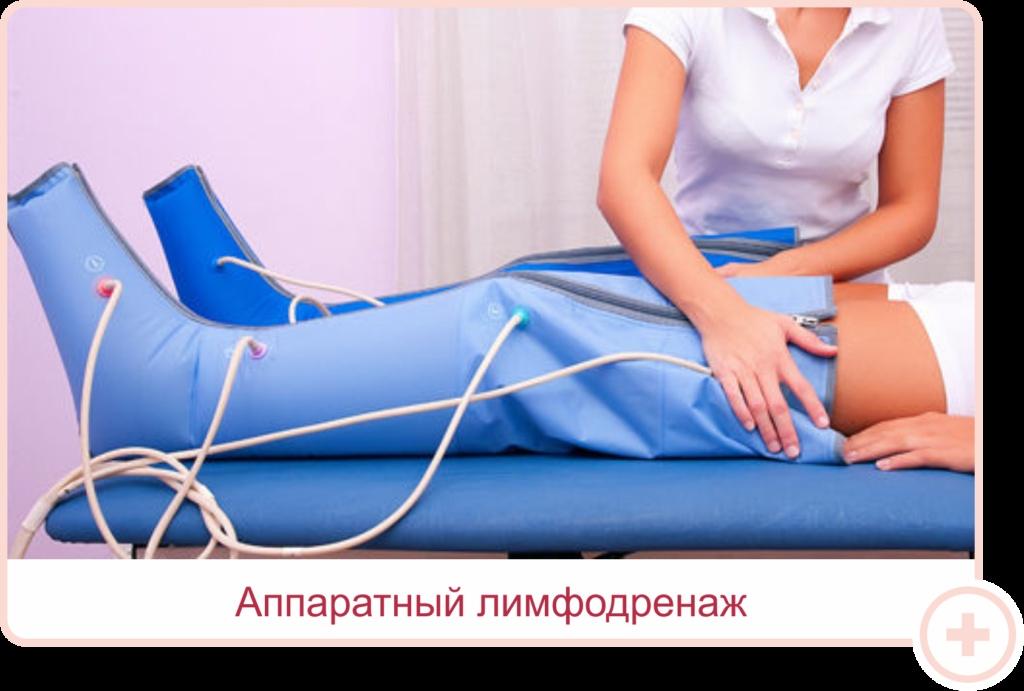 Лимфодренажного аппаратного массажа отзывы