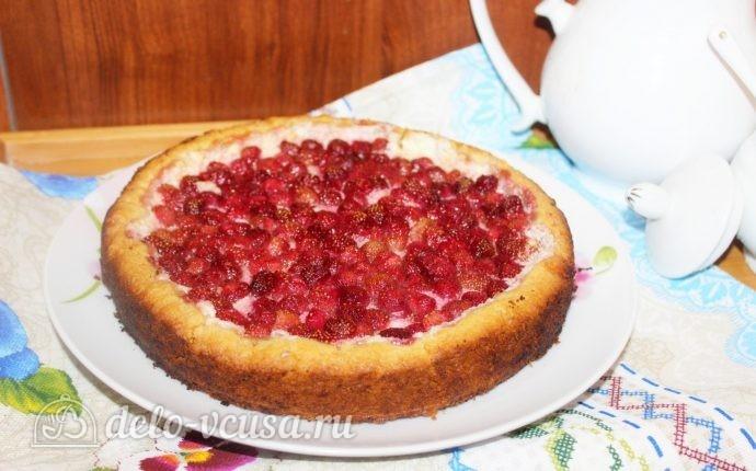Пирог ягодный в мультиварке рецепты с фото