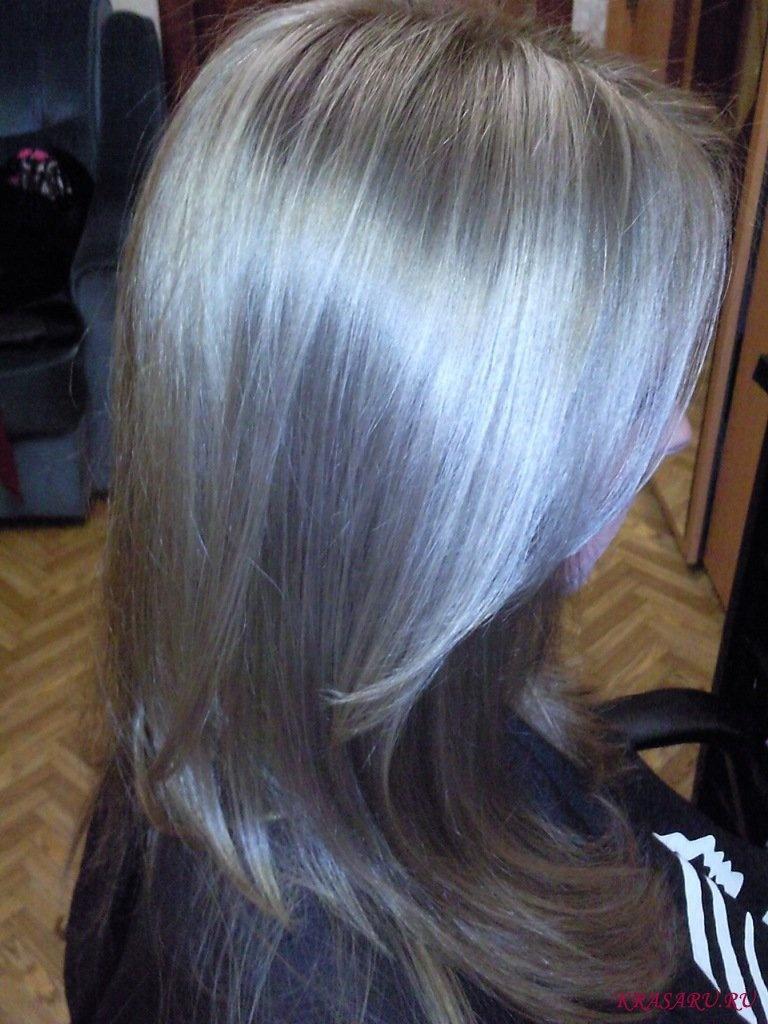 Как сделать цвет волос русо пепельным