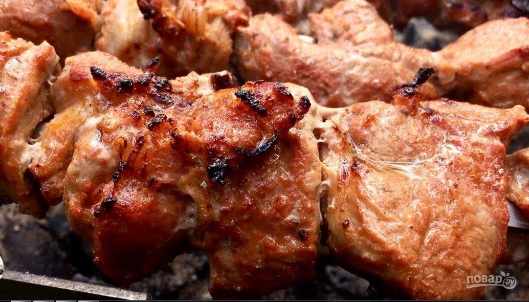 Шашлык из свинины быстро