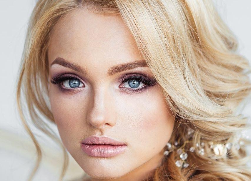 Фото макияж на свадьбу блондинке