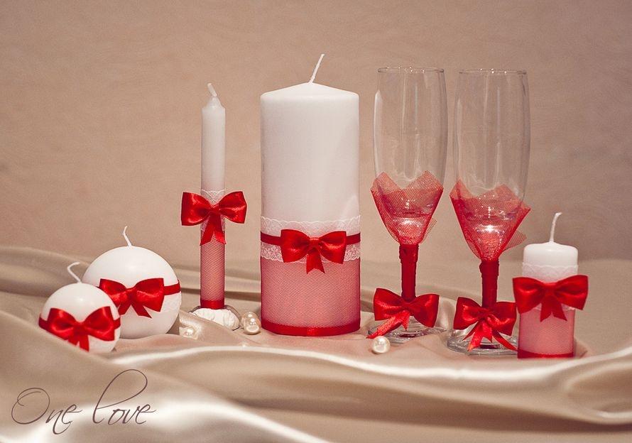 Украшение свечи к свадьбе своими руками