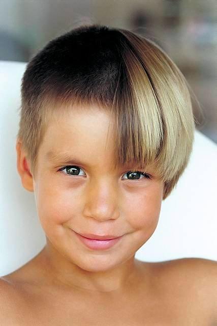 Разные причёски для мальчиков