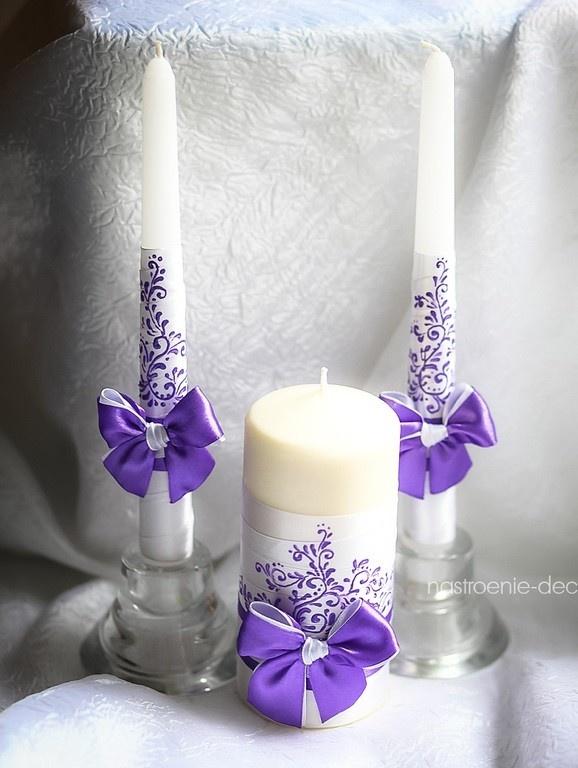 Свадьба своими руками свечи