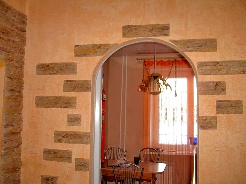 Фото как сделать арку в дверном проеме