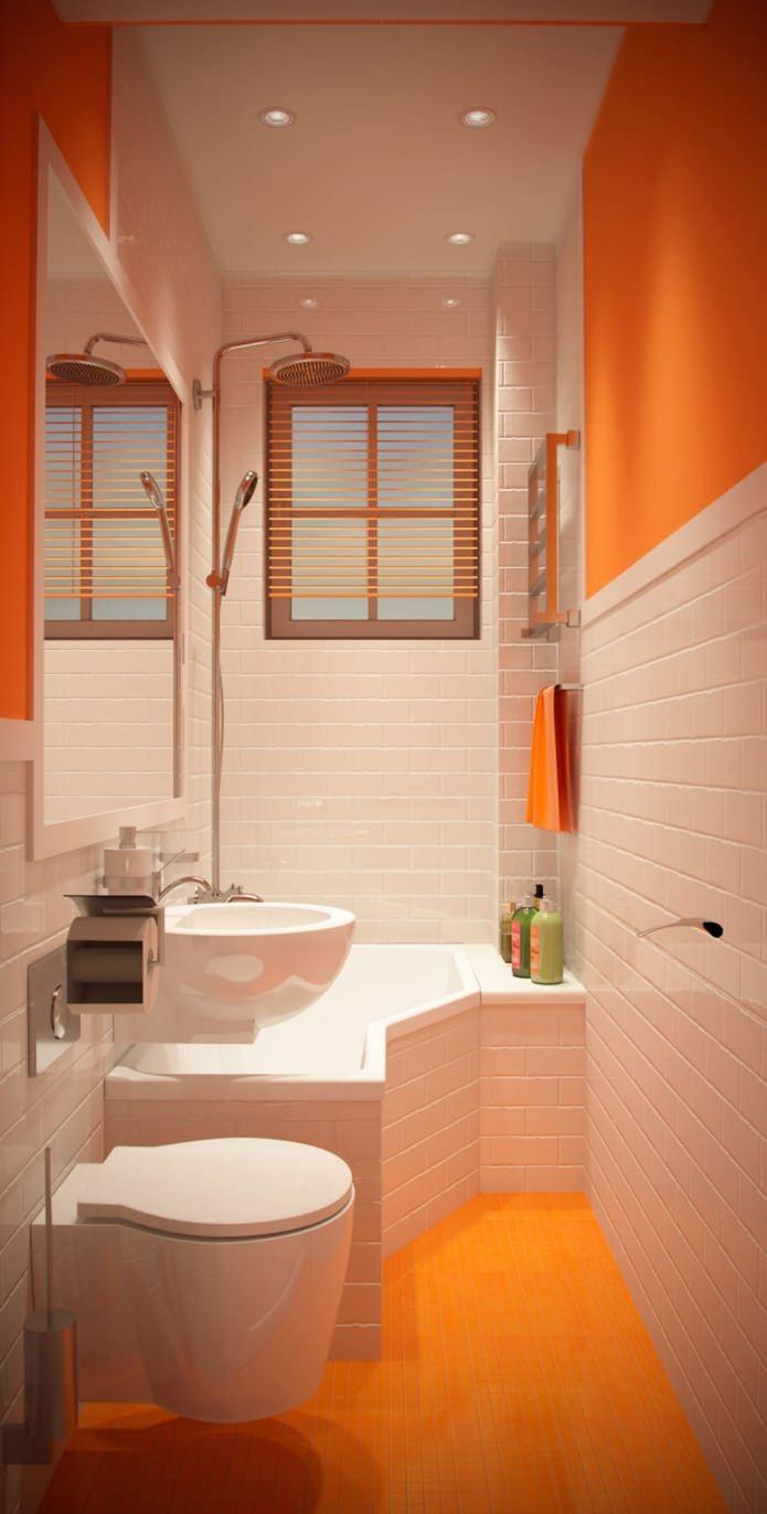 Метровая ванна дизайн