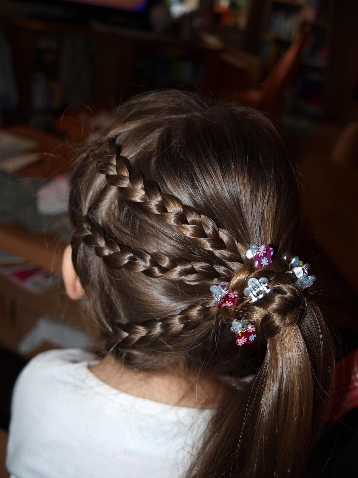 Детские прически в садик для девочек и как их делать