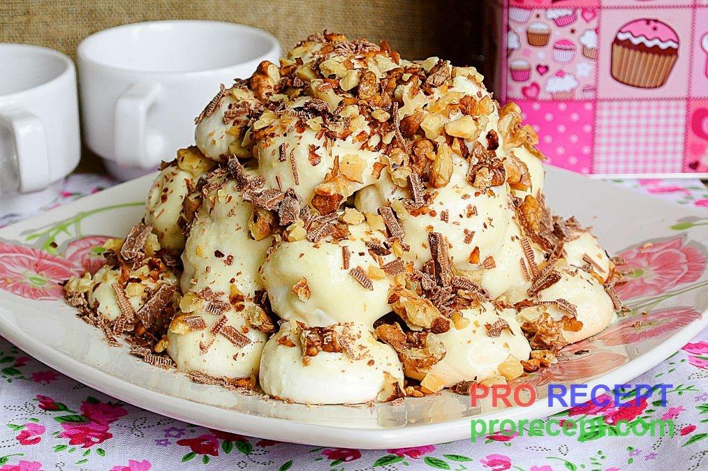 Торт графские развалины рецепт со сметаной пошаговый