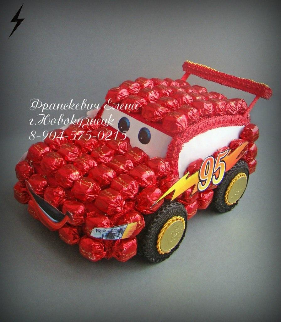 Машины из конфет для начинающих пошаговое для начинающих