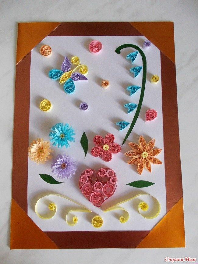 Поделки на день рождения для мамы своими руками