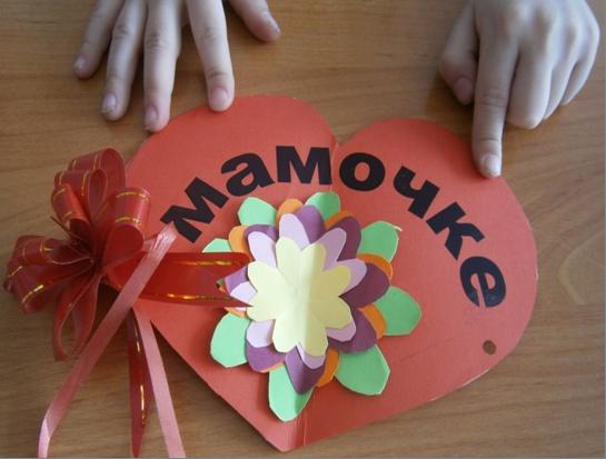 Подарок маме сделанный своими руками в детском саду