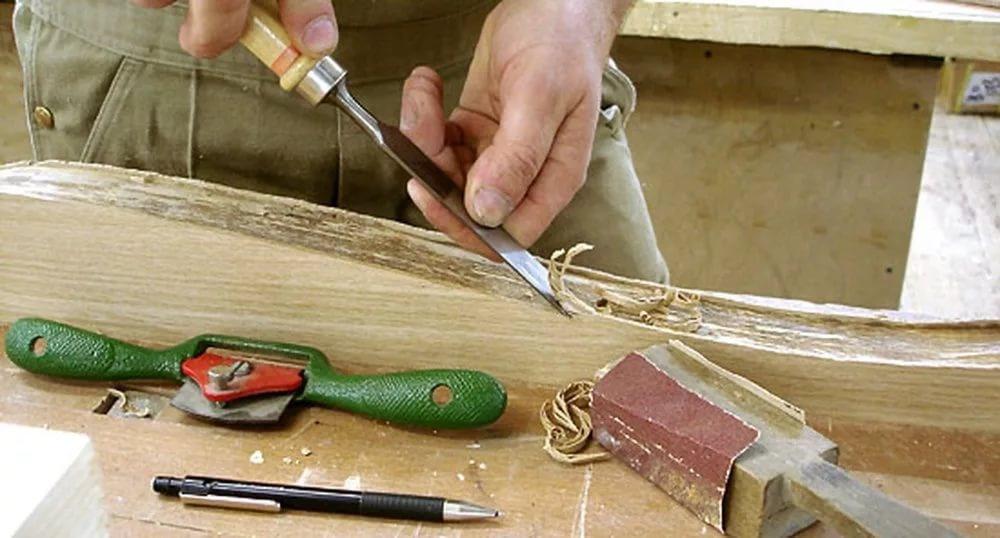 Изготовление сложной мебели своими руками.