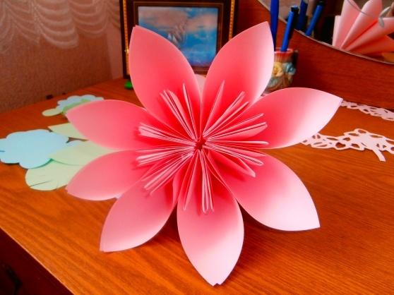 Поделки маме бумажные цветы