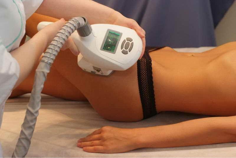Вакуумно-роликовый массаж с инфракрасным излучением
