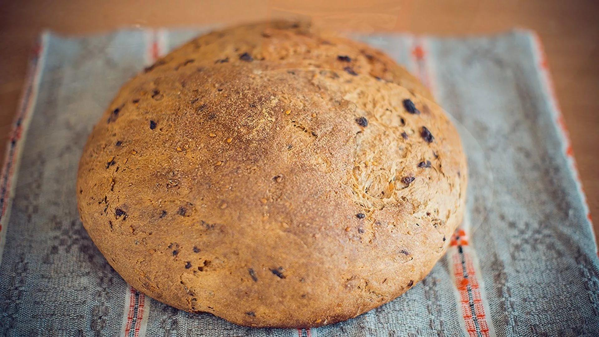 Постряпать хлеб в домашних условиях