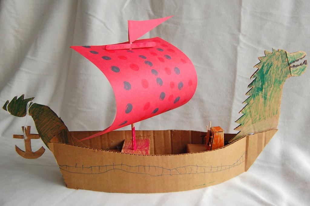 Поделка своими руками-корабль