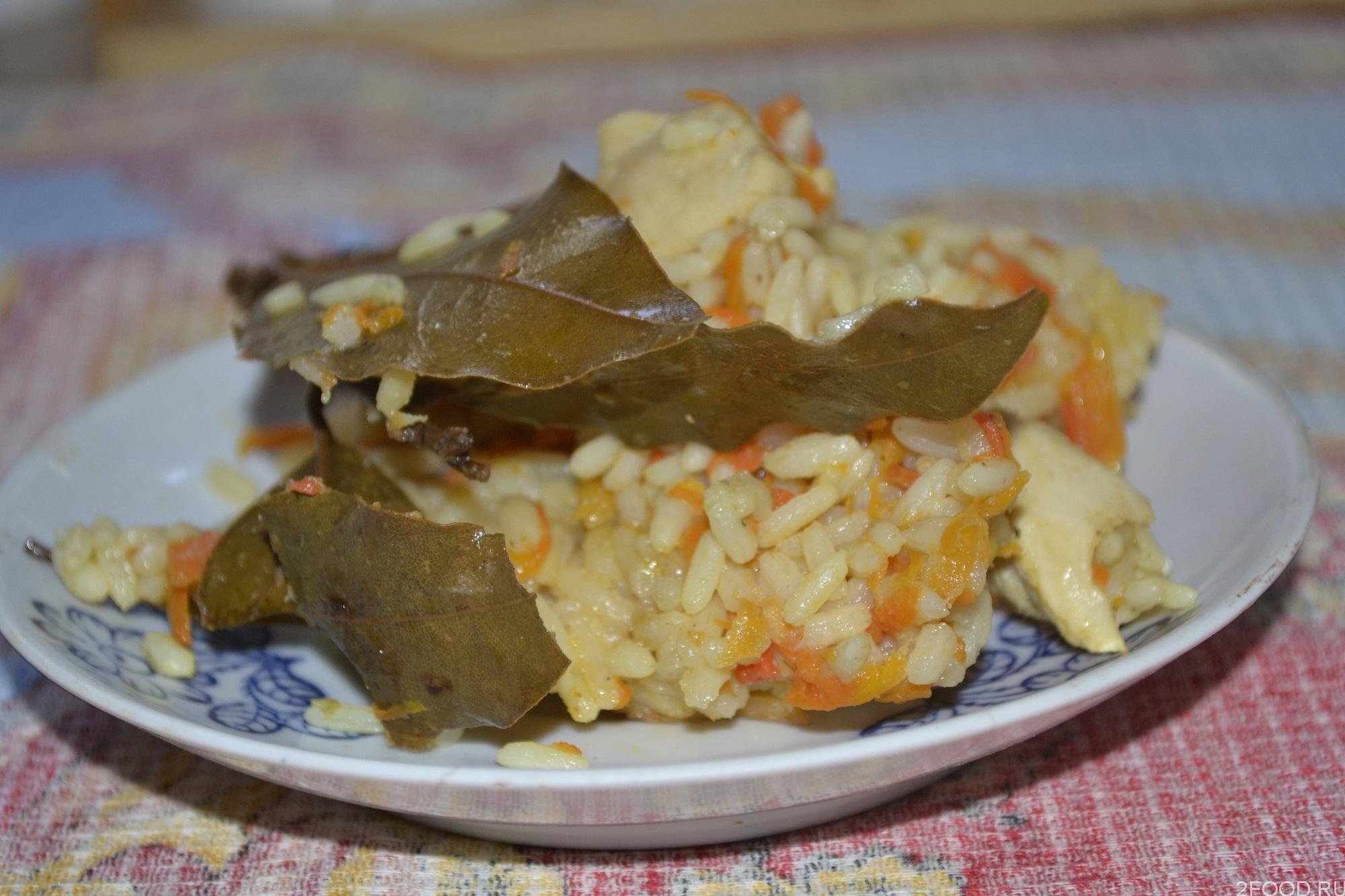 Рецепт плова с филе курицы с фото пошагово