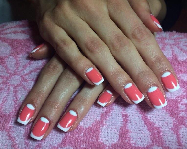 Фото ногтей с френч маникюр