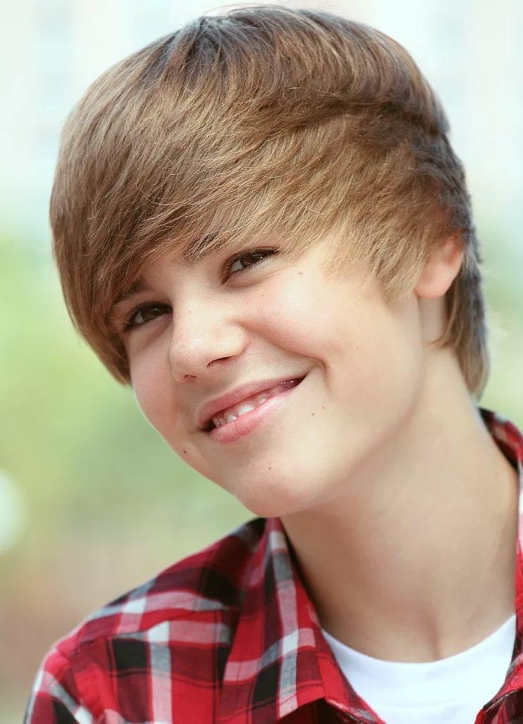 Причёска для мальчика с чёлкой
