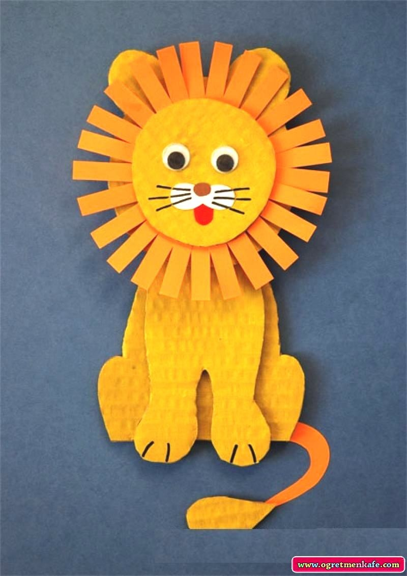 Львенок своими руками