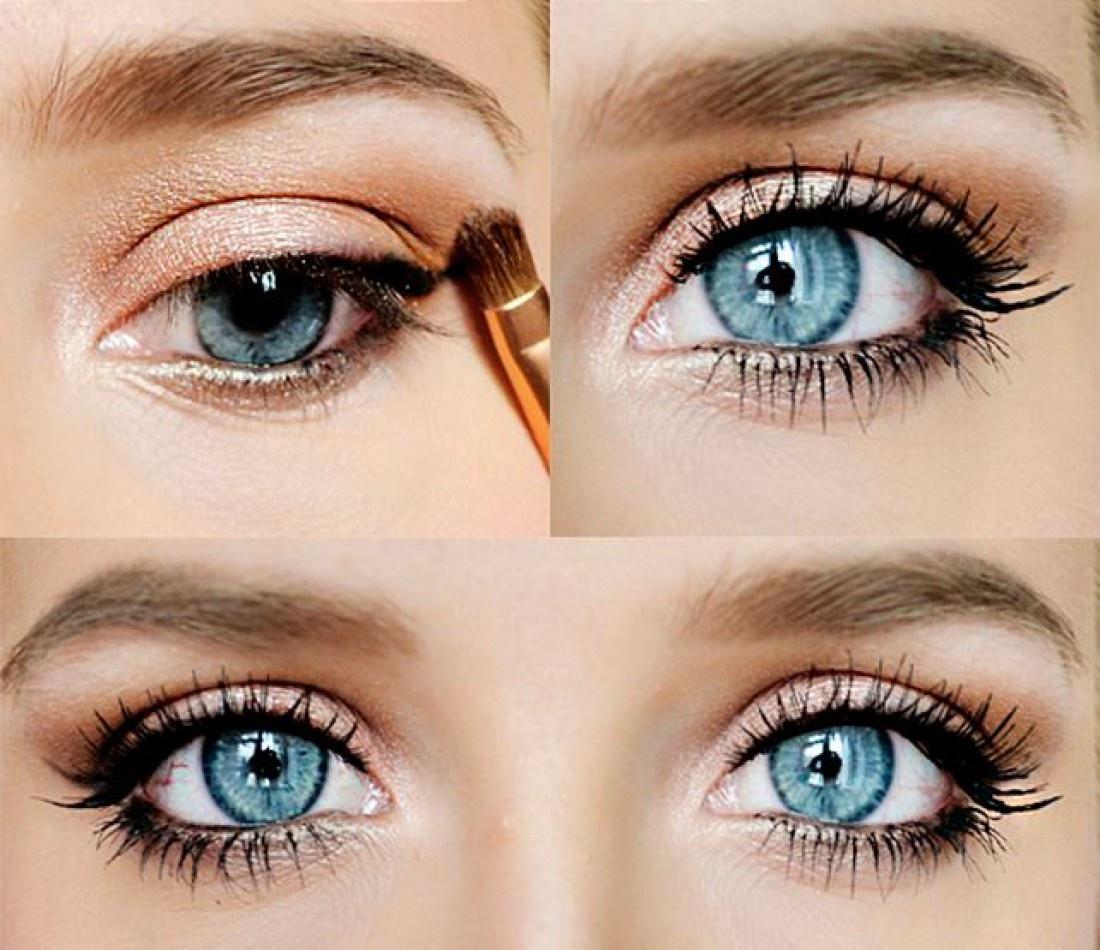 Фото макияж глаз на каждый день
