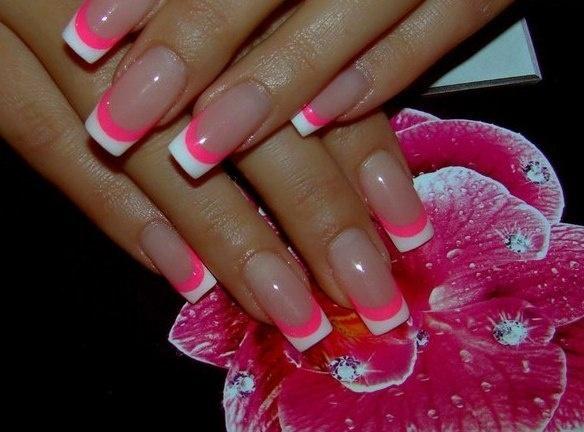 Красивые гелевые ногти этого лета