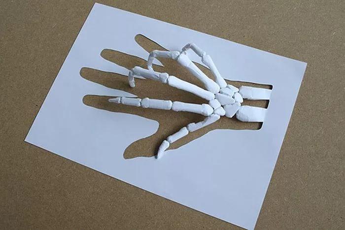 Какие можно сделать поделки из белой бумаги