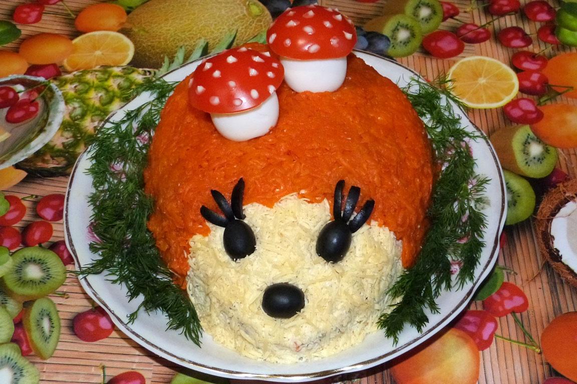 Рецепт салатов на день рождения детей с