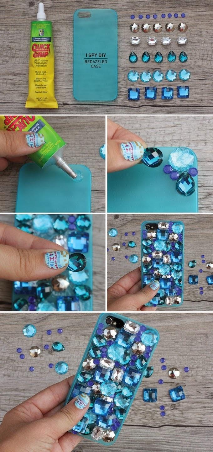 Как сделать красивый чехол для телефона