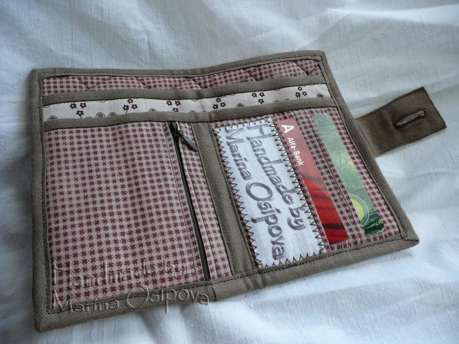 Кошельки текстильные своими руками - карточка от пользователя goshenka в Яндекс.Коллекциях