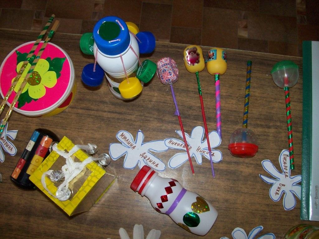 Как сделать музыкальную игрушку своими