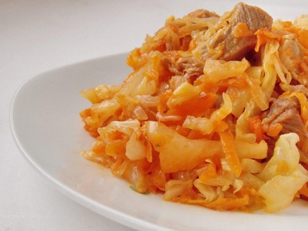 Пошаговый рецепт с капуста тушеная