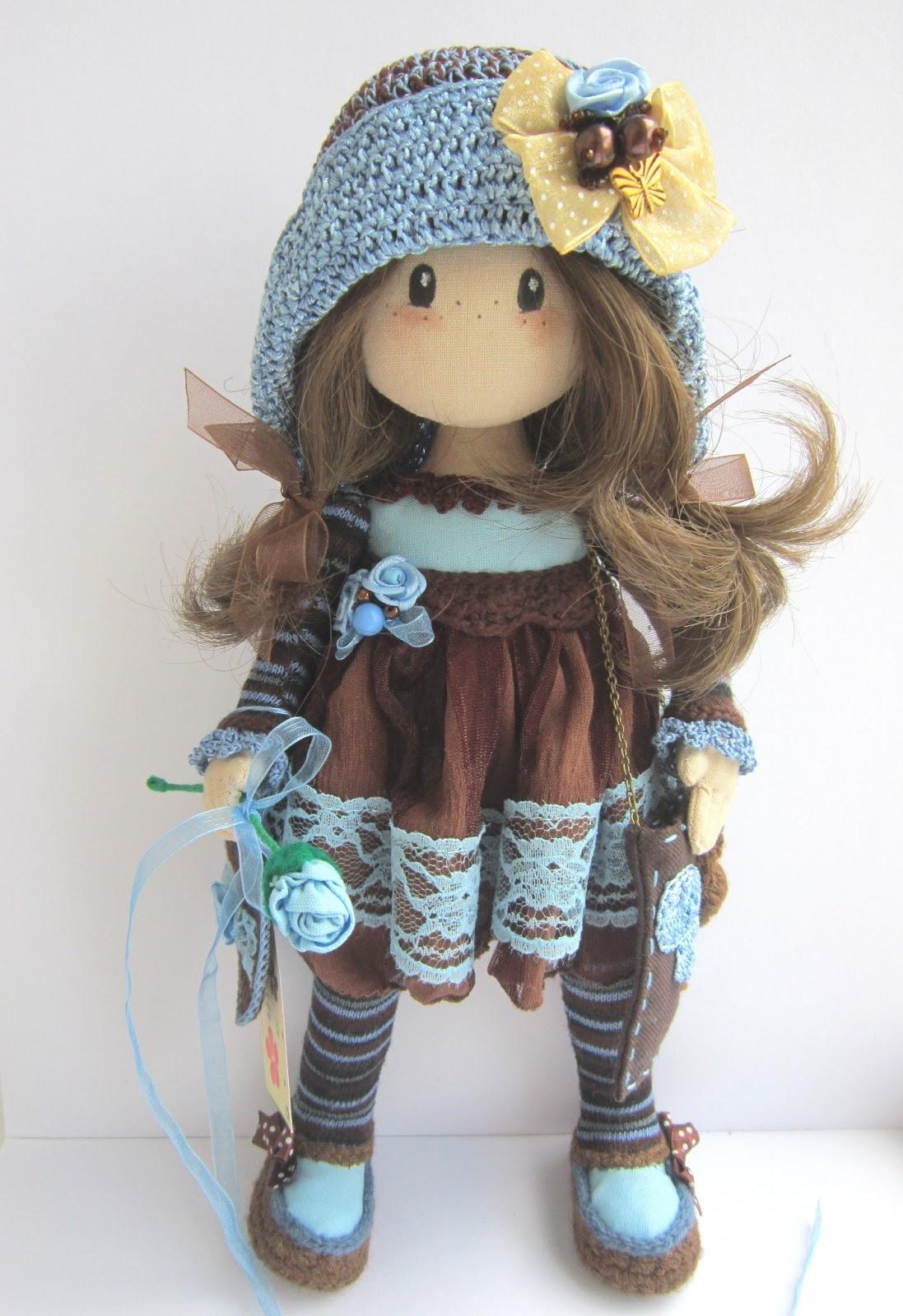Мастер-класс текстильная кукла своими руками из ткани