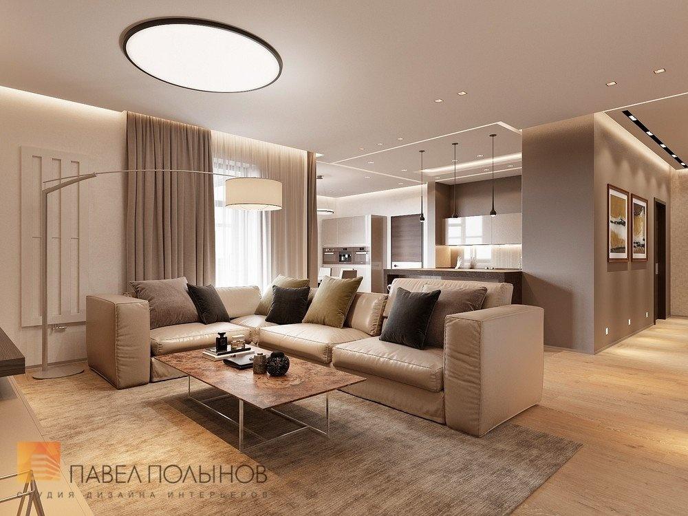 Интерьер гостиной в современном стиле 36 кв.м фото