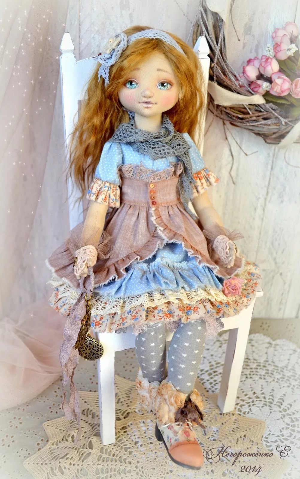 Куклы своими руками мастер класс коллекционные