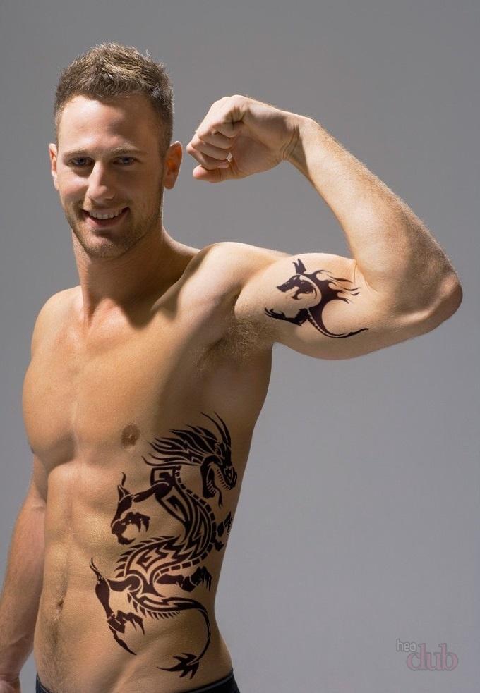 Популярные тату для парней