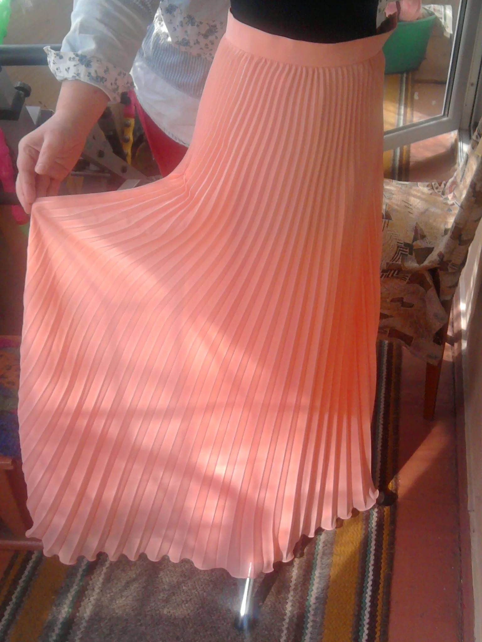Сшить юбку плиссе