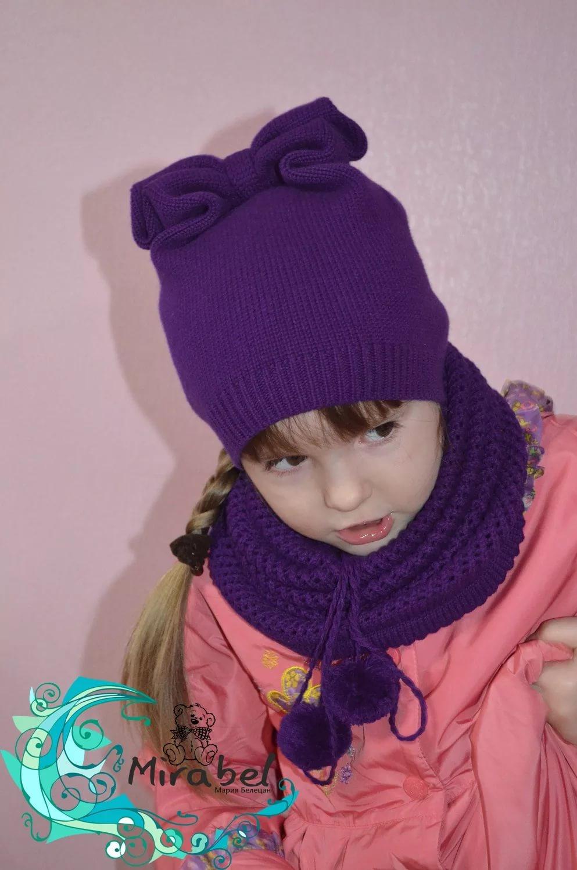Вязаная шапка на весну для девочки - результаты поиска
