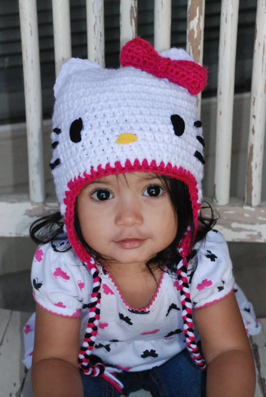 Вязание шапок для девочек фото