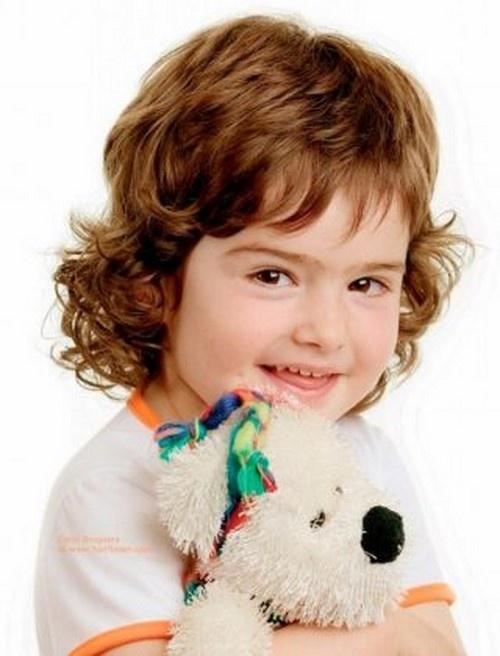 Стрижка каскад для ребенка