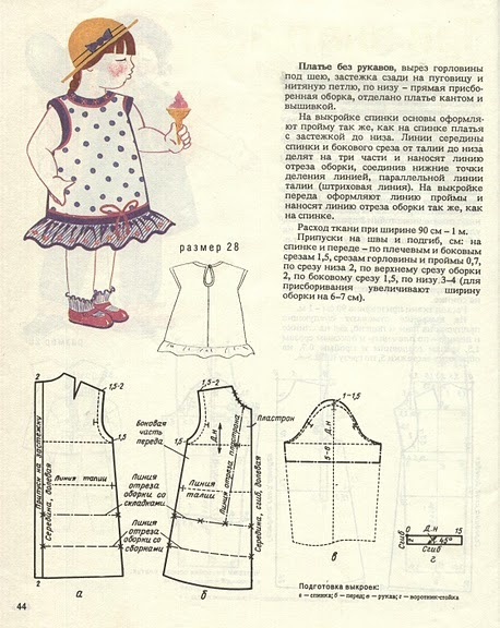 Как сшить детскую блузку для начинающих выкройки